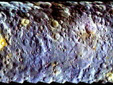 Dawn's Ceres Color Map Reveals Surface Diversity