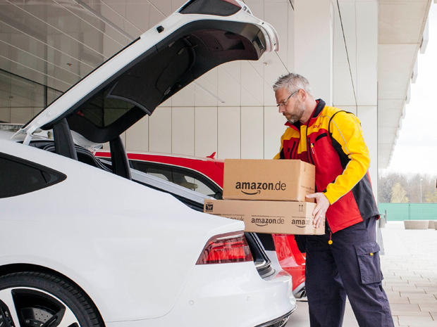 Amazon Wants to Put Packages in the Trunk of Your Car