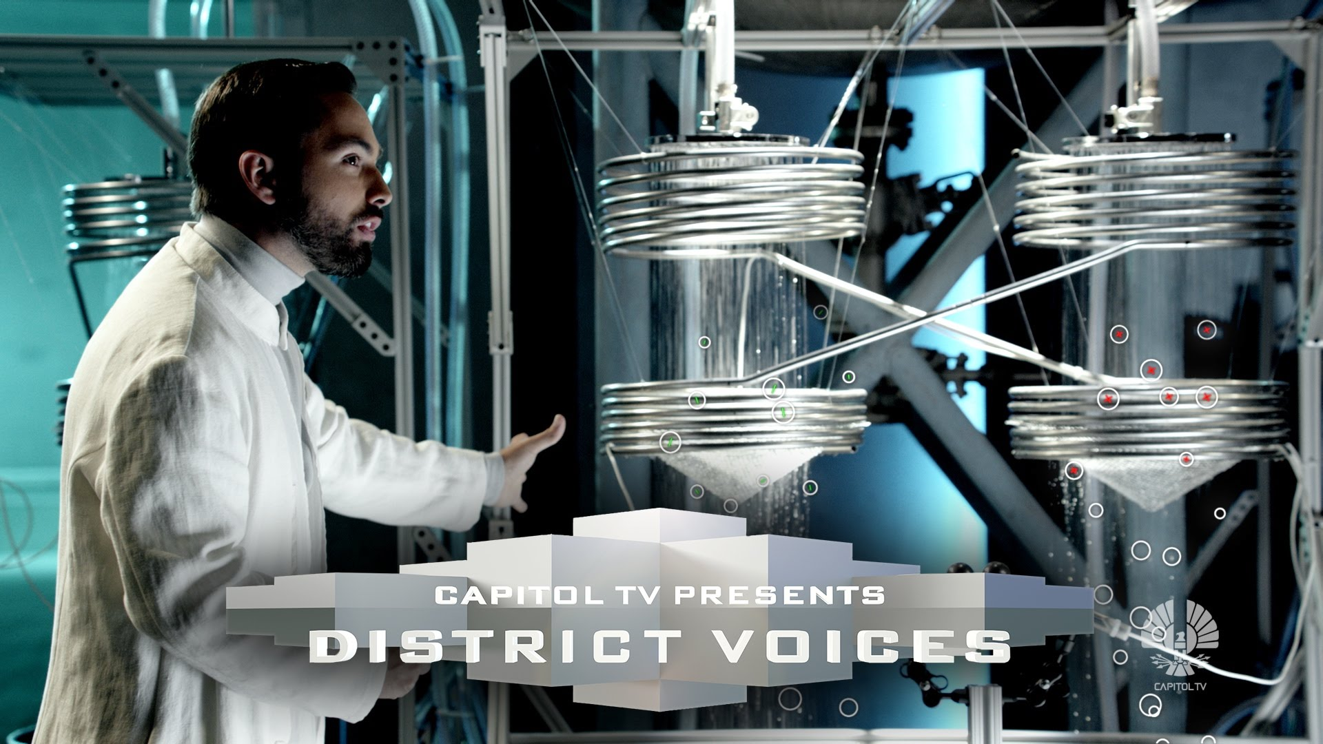 CapitolTV's DISTRICT VOICES – District 5: Electric Sparks From Falling Water