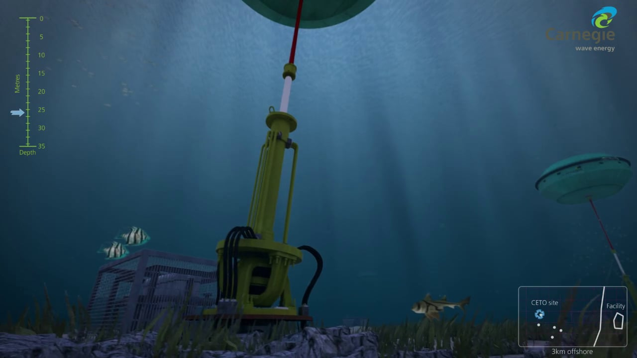 3D Animation for Carnegie Wave Energy