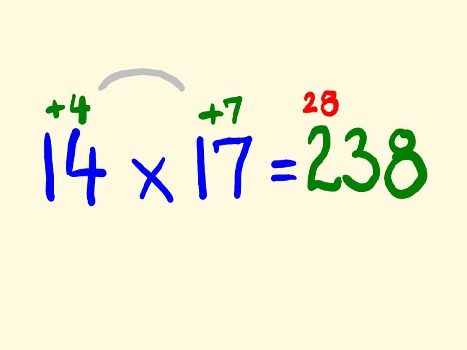 Fast Mental Multiplication Trick – multiply in your head using base 10