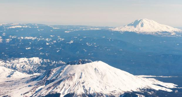Mount St. Helens is a cold-hearted volcano