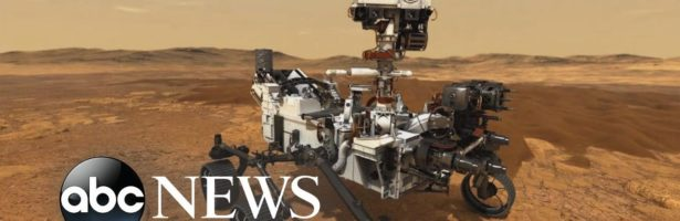 NASA's new Mars Rover heads to space