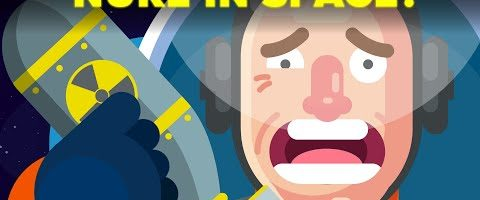 What Would Happen If We Detonate a Nuke in Space?