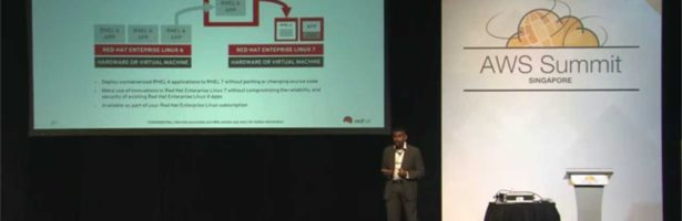 AWS Summits 2015 | Singapore – Containerized Cloud Computing