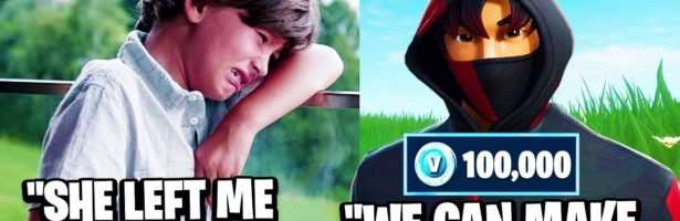 8 Year Old LOST His GIRLFRIEND To A Rich Kid, So We Confronted Her… (Fortnite)