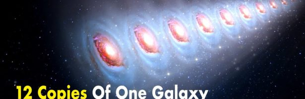 12 Copies Of One Galaxy Appeared In Space!