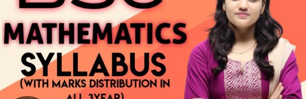 BSC  MATHEMATICS  SYLLABUS FOR ALL YEAR