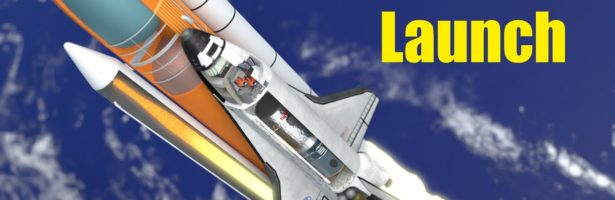 How did the Space Shuttle launch work?