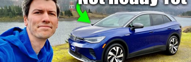 The Volkswagen ID.4 Is A Disappointing Electric Car (For Now)