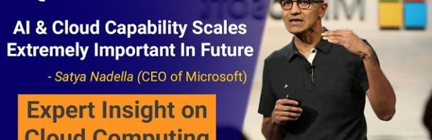 What is Cloud Computing | Future of Cloud Computing | Satya Nadella Interview |  Intellipaat