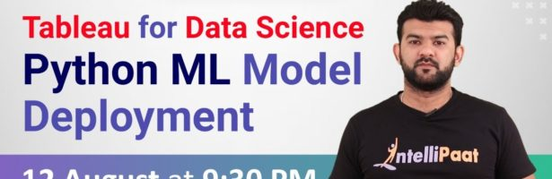 Tableau for Data Science   Python Machine Learning Model Deployment   Intellipaat