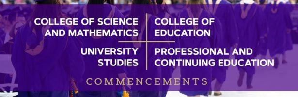College of Science and Mathematics, College of Education, University Studies; and PCE