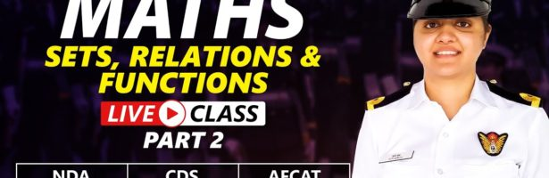 Mathematics Live Class   Sets, Relations And Functions – MCQ   Part 2   27 May 2021