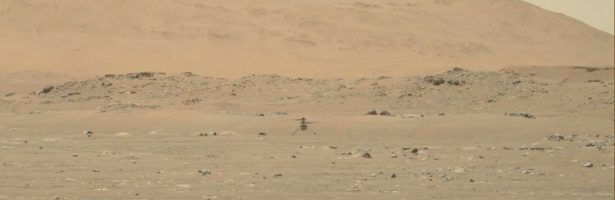 Watch NASA's Ingenuity helicopter on its first flight on Mars   Science News