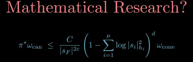 Have all math problems been solved? What is mathematical research?