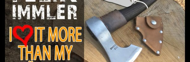How to transform a 8 dollar hardware store splitting hatchet into a outstanding carving axe !