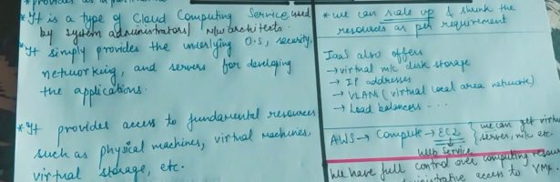 Lecture-8 IaaS in Cloud Computing    Infrastructure as a Service in Cloud Computing