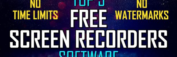 Top 5 Best FREE SCREEN RECORDING Software (2020-2021)