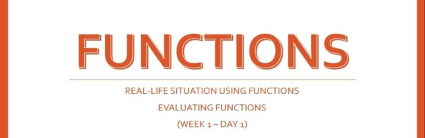 SHS General Mathematics | Lesson 1 Representing and Evaluating Functions