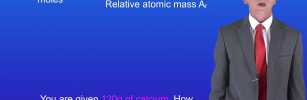 """GCSE Science Revision Chemistry """"Calculating Moles of an Element"""""""