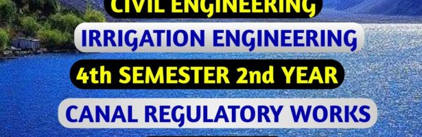 Irrigation Engineering MCQ /Irrigation Engineering Objective Questions/ @POLYTECHNIC CLASSES